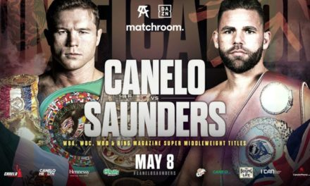 Canelo Εναντίον Saunders στις 8 Μαΐου με Θεατές !